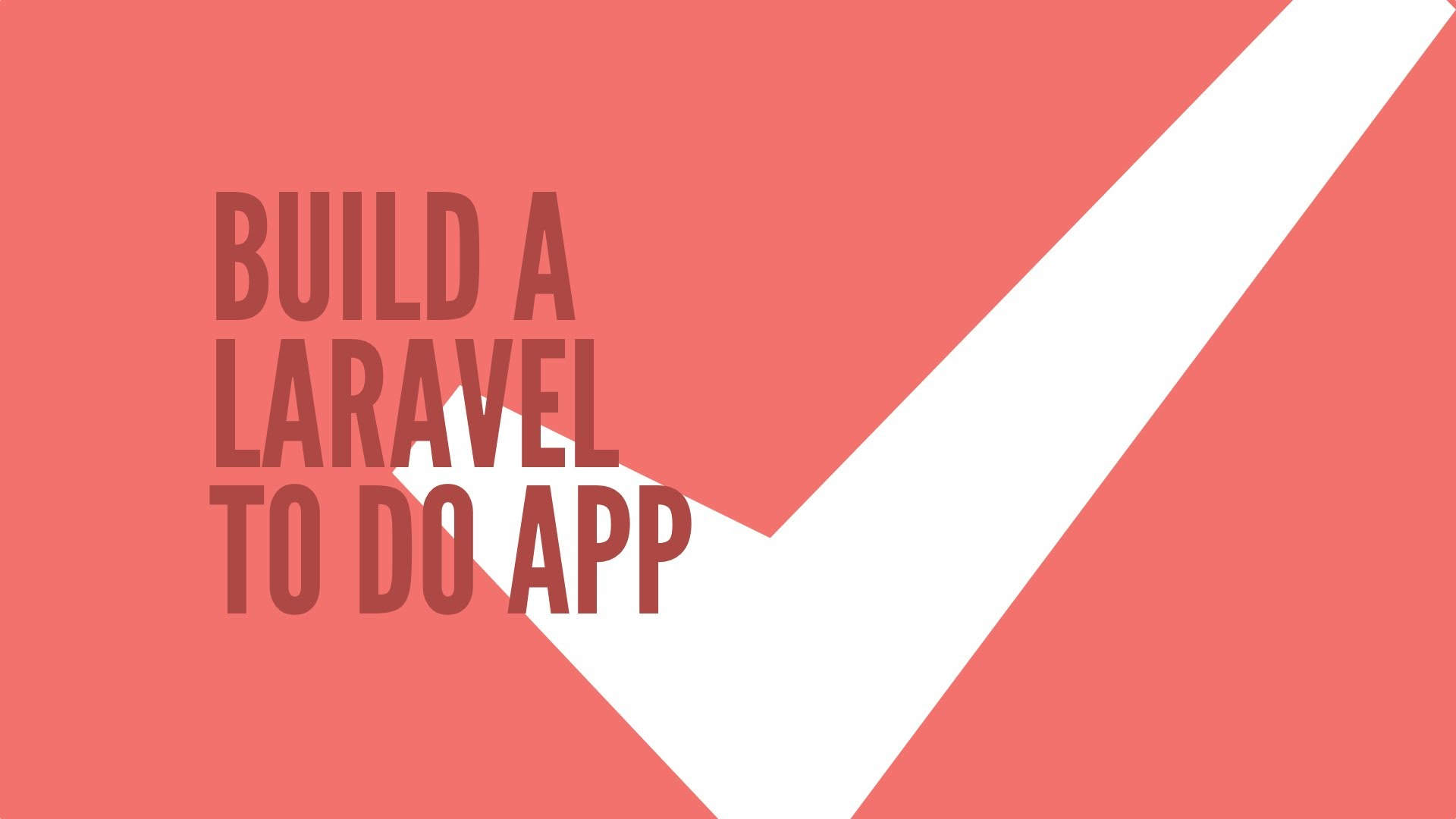 Laravel 5 powered todo Application
